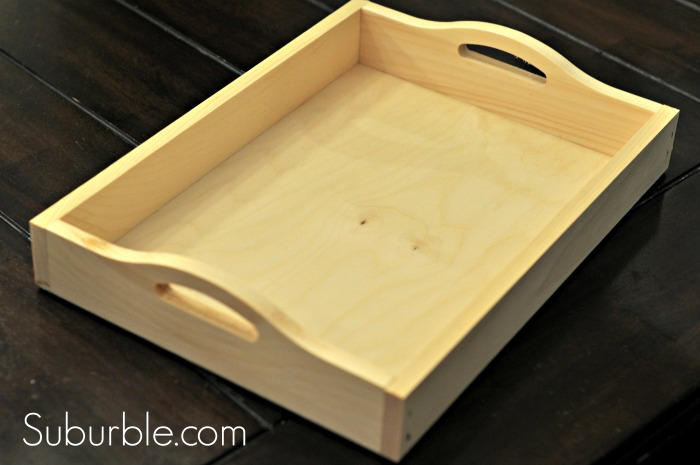 chalkboard paint serving tray, chalkboard paint, crafts, home decor