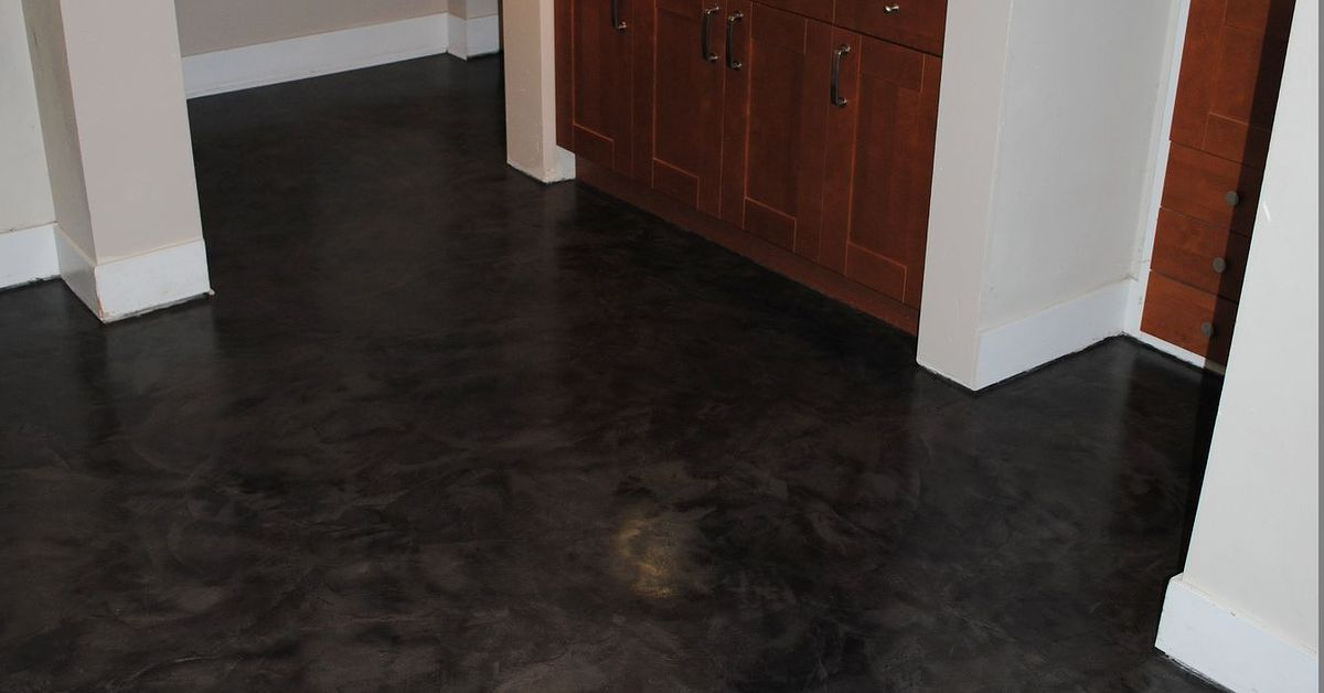 New Micro Topping Basement Floor Replaces Hometalk