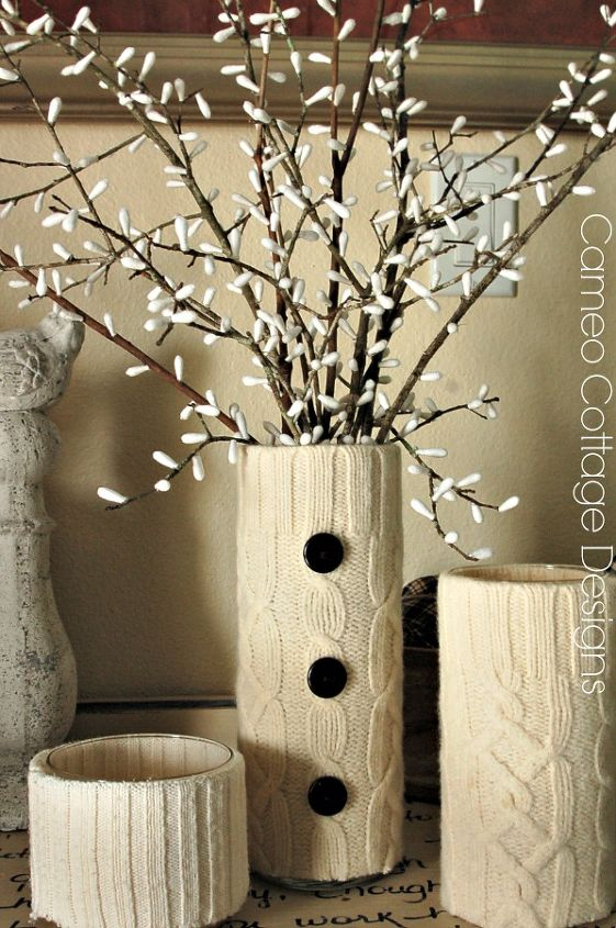 diy pussy willow branches q tips, crafts, home decor, repurposing upcycling, seasonal holiday decor
