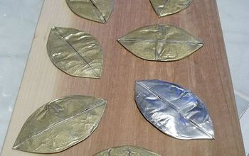 DIY (Super Easy) Metal Leaves
