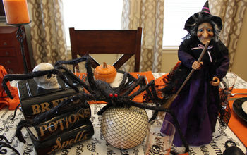 A Halloween Birthday Tablescape