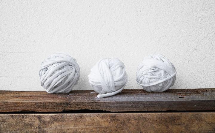 repurposing t shirt rug washable, bathroom ideas, crafts, diy, how to, repurposing upcycling