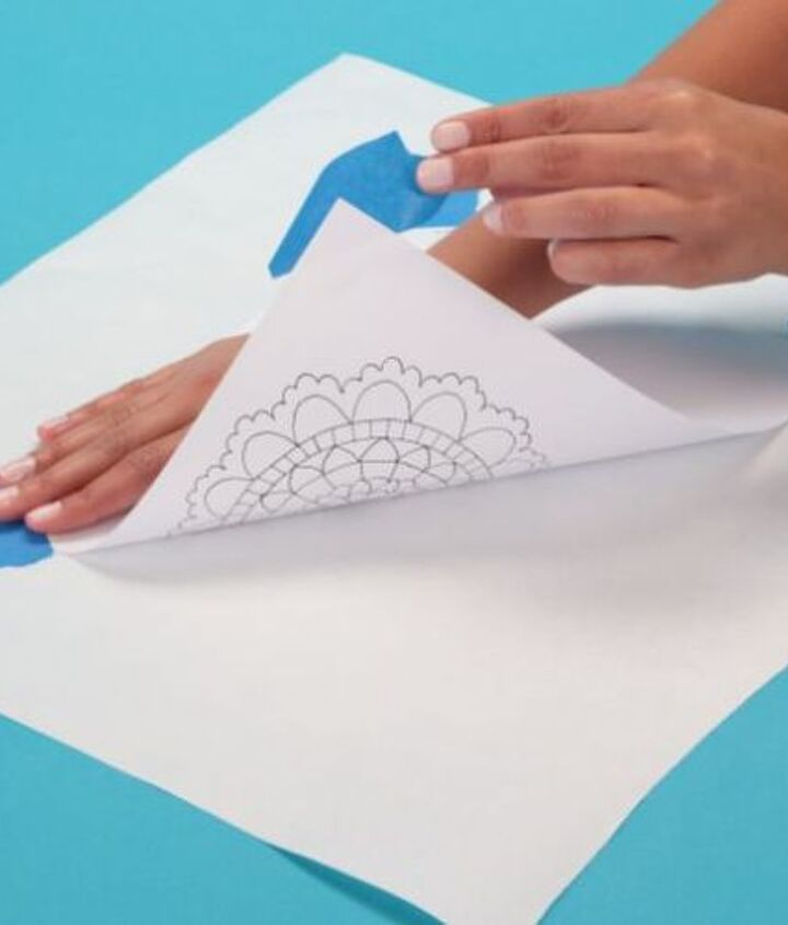 crafts dimensional doily tutorial, crafts, home decor, how to