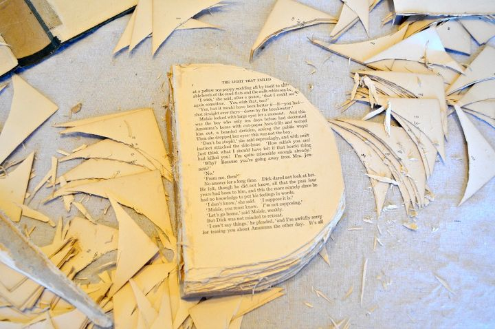 crafts book pumpkin fall, crafts, halloween decorations, repurposing upcycling, seasonal holiday decor