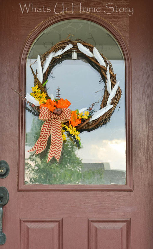 fall wreath grapevine craft variations, seasonal holiday decor, wreaths