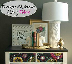 Good Decoupage Dresser Mod Podge Fabric Makeover, Chalk Paint, Decoupage, Home  Decor, Painted
