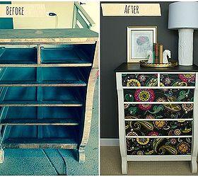 Captivating Decoupage Dresser Mod Podge Fabric Makeover, Chalk Paint, Decoupage, Home  Decor, Painted