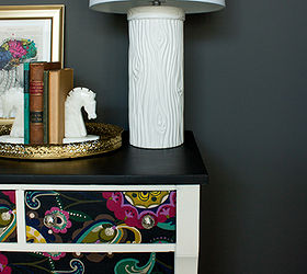 Decoupage Dresser Mod Podge Fabric Makeover, Chalk Paint, Decoupage, Home  Decor, Painted