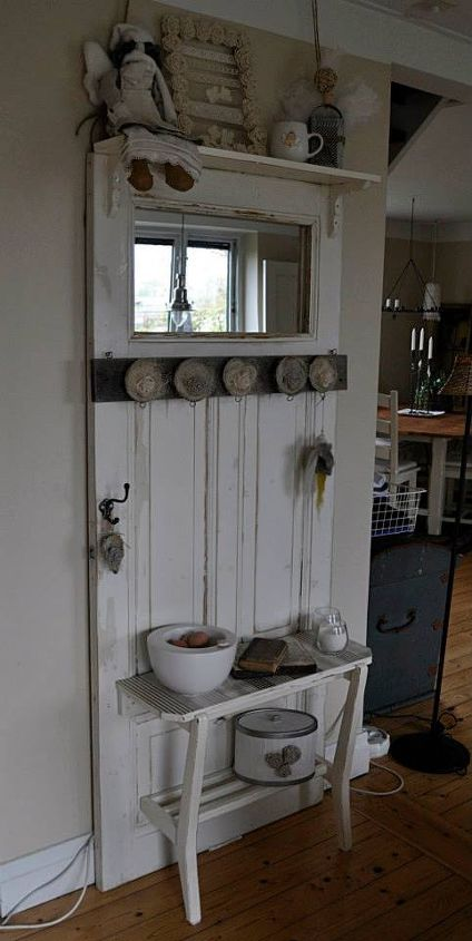 Recycled Old Door Hometalk