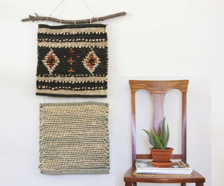 How to Make a $10 Woven Wall Hanging--Without Weaving A Thing ...