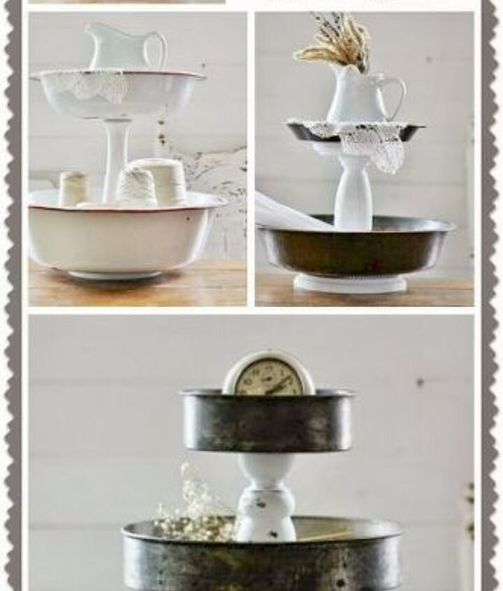 diy tiered stand serving center, home decor, repurposing upcycling, seasonal holiday decor