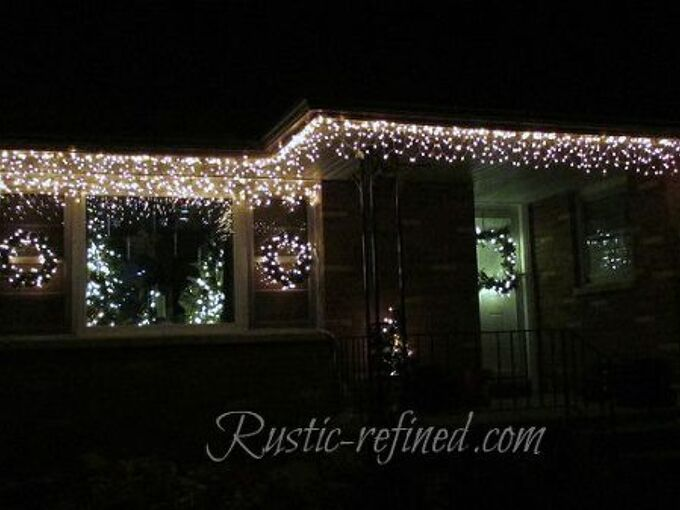 outdoor holiday lights cool hang outdoor holiday lights quickly tutorial hometalk