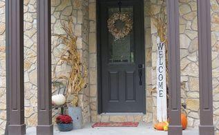 fall front porch decor flea market finds, crafts, home decor, porches, repurposing upcycling, seasonal holiday decor
