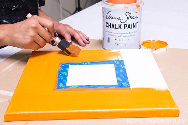 Thanksgiving DIY: Stencil a Fall Gallery Wall | Hometalk