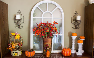 stretched for time and money try my easy fall decorating tips, crafts, fireplaces mantels, repurposing upcycling, seasonal holiday decor