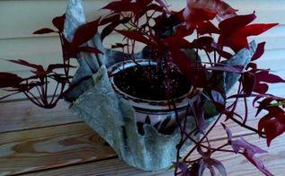 hypertufa planters, gardening
