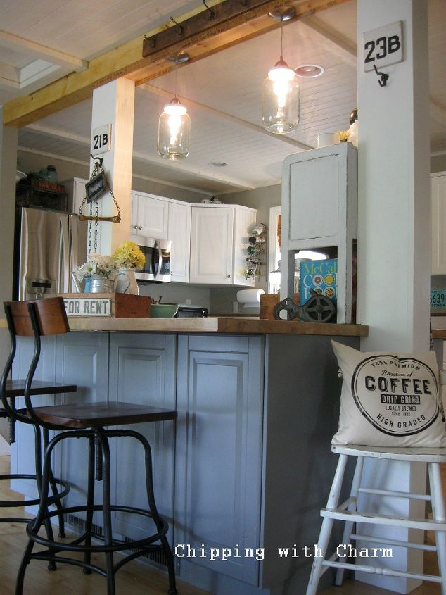 kitchen makover countertops farmhouse sink, home improvement, kitchen  cabinets, kitchen design, repurposing