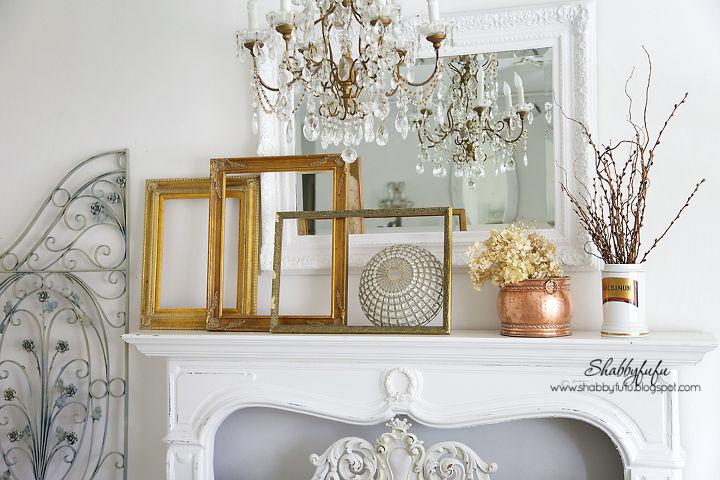 fall decorating inspiration easy french elegant style, fireplaces mantels, seasonal holiday decor