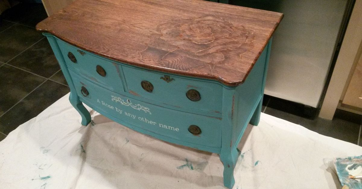 how to get chalk paint of wood