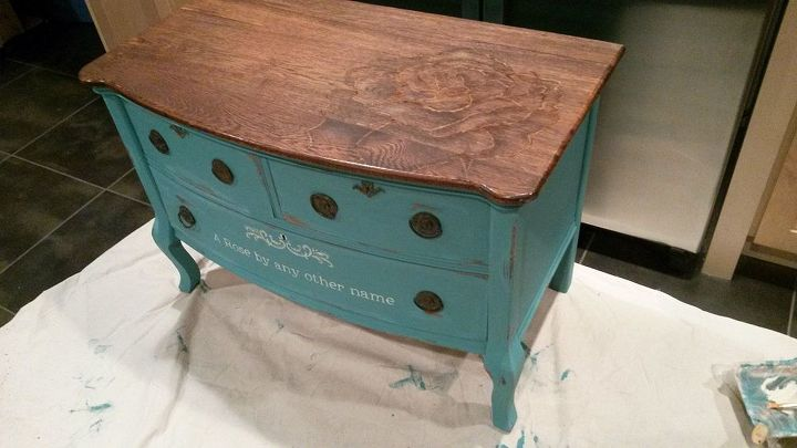 furniture chalk paintChalk Paint and StainPainted Dresser  Hometalk