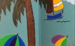 custom mural in ocean isle beach nc, painting, wall decor