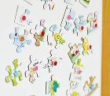 how to create puzzle magnets upcycle, crafts, repurposing upcycling