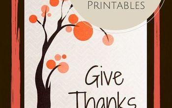 5 Free Thanksgiving Printables