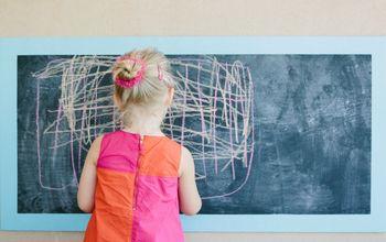 Kids Outdoor Chalkboard