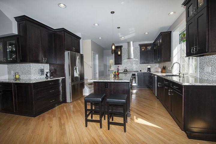 dura supreme kitchen with a contemporary flair, home improvement, kitchen design
