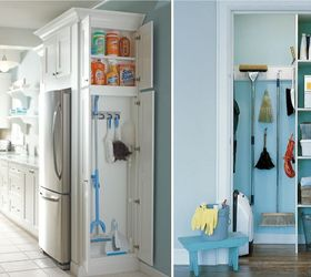 Beau Broom Closet Organization Ideas, Cleaning Tips, Closet, Organizing