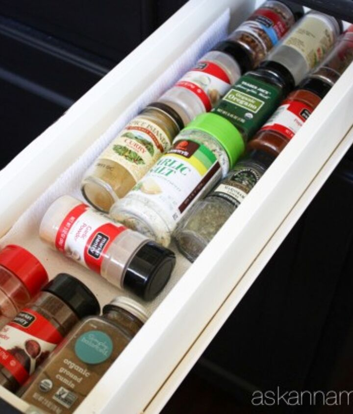 how to organize spices in a drawer, how to, kitchen cabinets, organizing