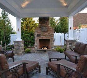 Outdoor Fireplace Ideas, Fireplaces Mantels, Landscape, Outdoor Fireplace  ...