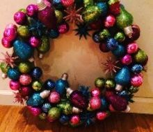 q christmas wreath holiday craft, christmas decorations, crafts, seasonal holiday decor, wreaths