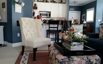 new chair can transform family room, home decor, living room ideas