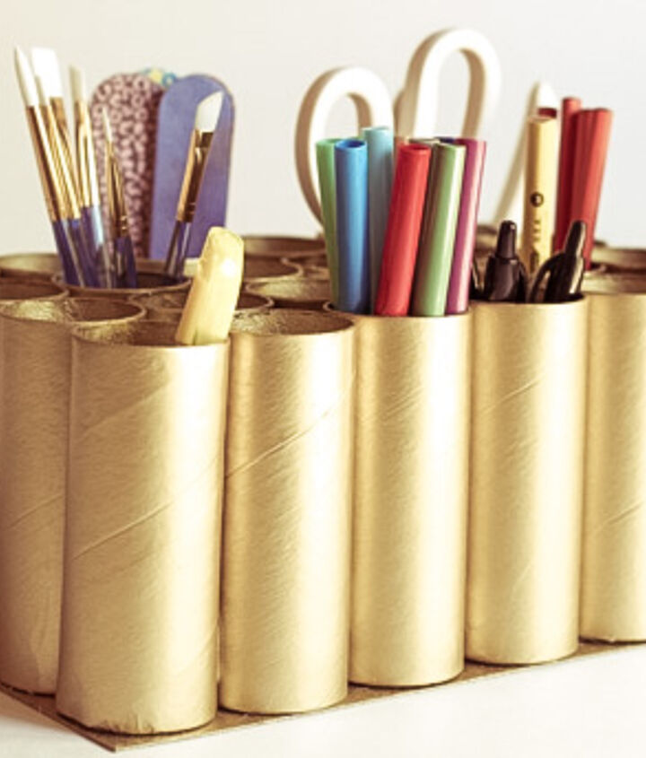 how to make a tp craft caddy, crafts, how to, repurposing upcycling