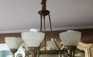 how to make a chandelier cover