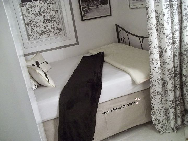 creating a bed nook how to, bedroom ideas, home decor