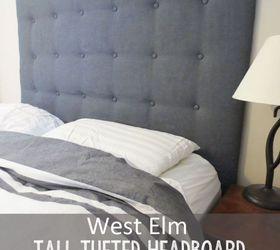 est elm tall tufted headboard how to for less bedroom ideas diy repurposing & DIY West Elm Tall Tufted Headboard: How To Create It For Less ... pillowsntoast.com