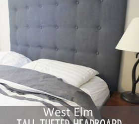 Est Elm Tall Tufted Headboard How To For Less, Bedroom Ideas, Diy,  Repurposing Images