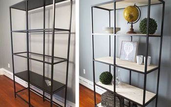 DIY $100 Restoration Hardware Bookshelf