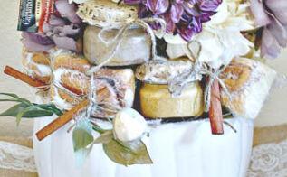 turn your leftover halloween pumpkin into a gift basket, repurposing upcycling, seasonal holiday decor
