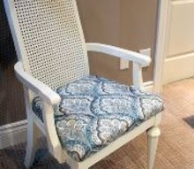 desk chair makeover with upholstery and paint, painted furniture, reupholster