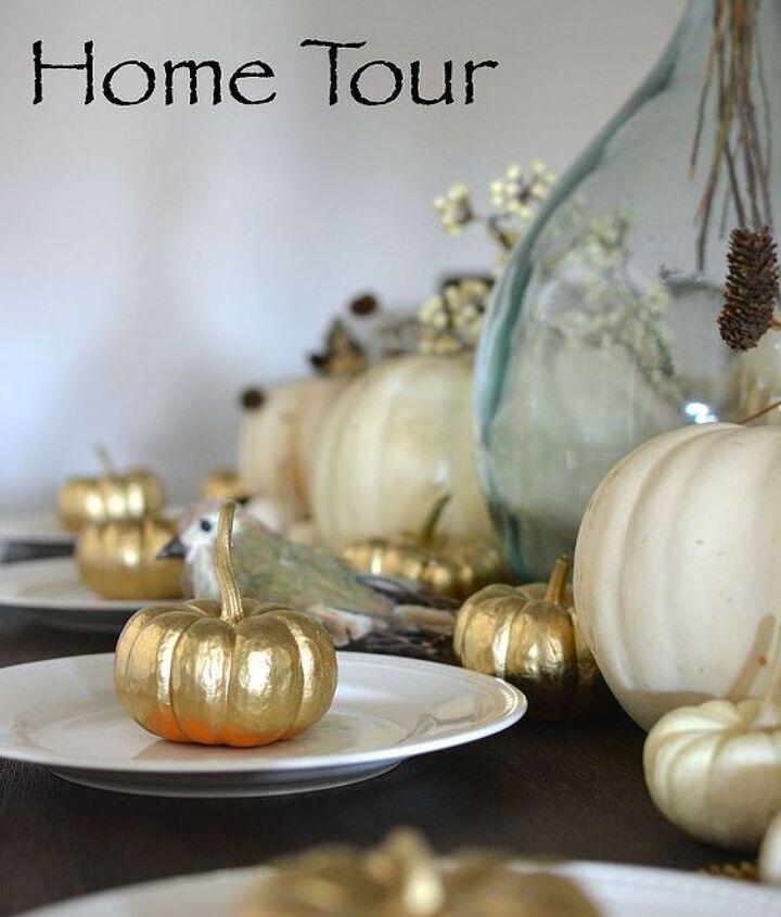 fall home tour decoration inspiration, home decor, seasonal holiday decor
