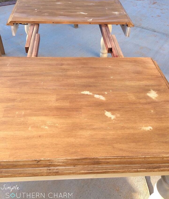java gel stain to fix up furniture, diy, painted furniture, woodworking projects