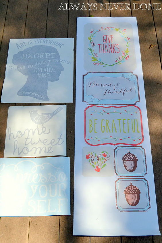frame holiday decals for instant decor, crafts, seasonal holiday decor
