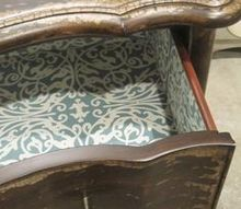 q lining furniture drawers with pretty paper, crafts, decoupage