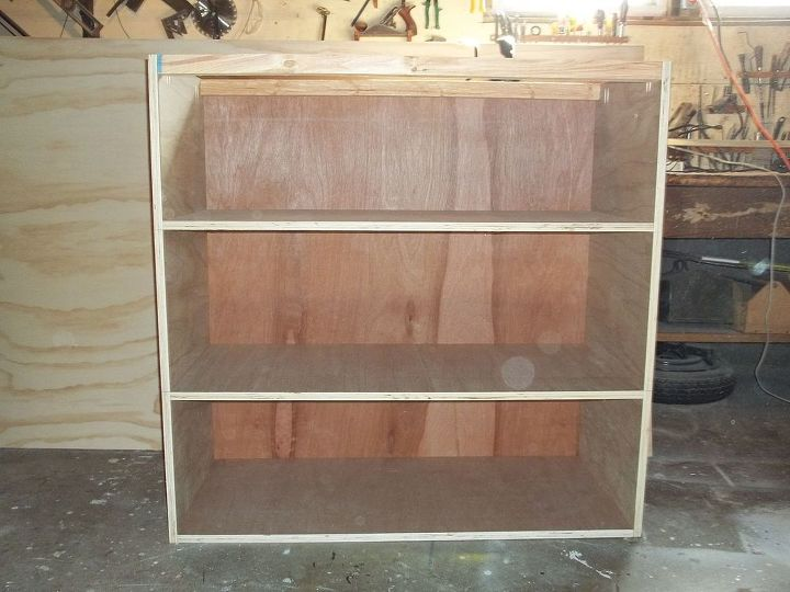 pottery barn inspired valencia armoire how to, bedroom ideas, diy, how to, painted furniture, woodworking projects