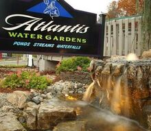 pondless waterfall landscape ideas new jersey, lighting, ponds water features