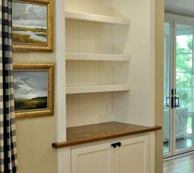 From Door To Built In Cabinet Transformation | Hometalk