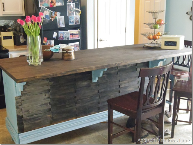 Turning Kitchen Table Into Kitchen Island